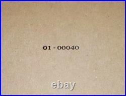 MIL SPEC USGI Kraft box for 1911A1 US&S Union Switch and Signal PIstol WW2 WWII