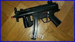 Mgc Model Gun Vintage Mp5k Blow Back Airsoft Gas&electric Smg Box &papers
