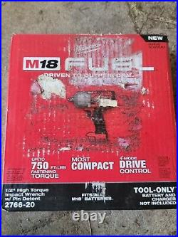 Milwaukee 2766-20 M18 FUEL 18V 1/2 in. Impact Wrench Bare Tool scuffed box