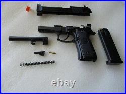 Miniature Pistol 1/2 Scale Beretta 92 Non Fireing, replica Box & Instruction