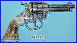 NOS, IN BOX, BAT MASTERSON B200 TOY CAP PISTOL With REMOVAVLE CHAMBER CARNELL MFG
