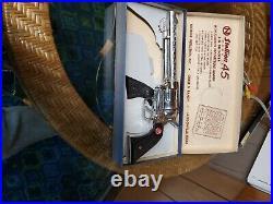 Nichols ranch stallion 45 mark II toy cap pistol, slightly used in box