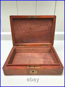 Original 19th century Mahogany pistol / revolver box c. 1860
