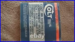 Original Colt 10mm Delta Elite Box, Includes Owners Manual In Good Condition