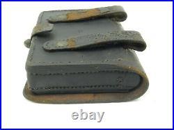 Original U. S. Civil War Percussion Pistol Cartridge Box Colt 1860 Army