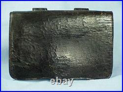 Original Used Civil War. 36 Cal. PISTOL CARTRIDGE BOX