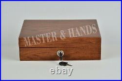 PISTOL GUN PRESENTATION CASE WOOD BOX, Colt 1911