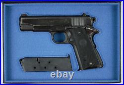 PISTOL GUN PRESENTATION CUSTOM DISPLAY CASE BOX for COLT COMMANDER COMBAT 1911A1