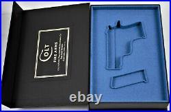 PISTOL GUN PRESENTATION CUSTOM DISPLAY CASE BOX for COLT MUSTANG Mk 4 Series 80