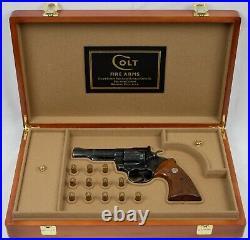 PISTOL GUN PRESENTATION CUSTOM DISPLAY CASE BOX for COLT TROOPER Mk III Mk 3 4