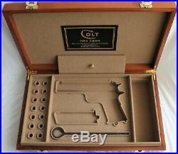 PISTOL GUN PRESENTATION CUSTOM DISPLAY CASE BOX for COLT m1911 government 45 ACP
