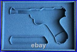 PISTOL GUN PRESENTATION CUSTOM DISPLAY CASE BOX for DWM LUGER P 08 parabellum