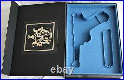 PISTOL GUN PRESENTATION CUSTOM DISPLAY CASE BOX for MAUSER LUGER P 08 parabellum