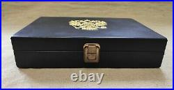 PM. Makarov pistol. Wooden box from a premium pistol with genuine leather