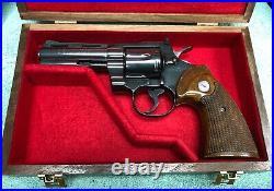 Pistol Gun Presentation Case Wood Box Colt Python 4 Barrel Snake Firearm Store