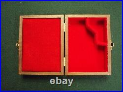 Pistol Gun Presentation Case Wood Box For Colt Model1908 Pocket Pistol Vest. 25