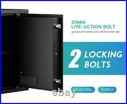 RPNB 16.5 inch High Deluxe Gun Safe Lock Box Money Jewelry Digital Keypad Safe