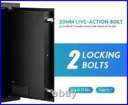 RPNB Deluxe Gun Safe and Lock Box Money Box Digital Keypad Safe Box Jewelry