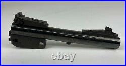 Rare Thompson Contender 6.5 Blued. 357 Mag Bull Barrel In Box