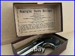Remington Caliber 41 Rimfire Derringers BOX made between 1898 and 1935