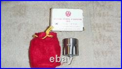 Ruger Single Six cylinder. 22WMR SS FLUTED with box and bag