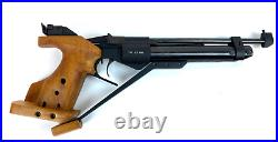 Russian Baikal IZH-46 Competition Match Air Pistol RH in box with Manual