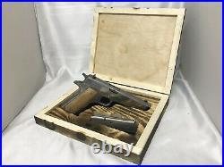 Rustic style Gun Case, Fits 1911 Gun Display Or Concealed Box