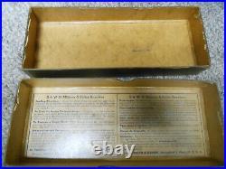 SMITH & WESSON 38 Military & Police GOLD REVOLVER Factory Vintage GUN BOX