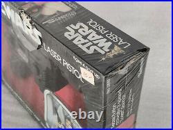 Sealed in plastic! Vintage STAR WARS HAN SOLO LASER PISTOL Kenner 1978 MOC MIB