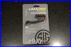 Sig Sauer lima365 Red Laser Sight for P365, SAS, X, and XL. New Open Box