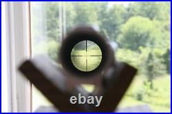 Silver Bausch & Lomb Elite 3000 2-6X32 Duplex Reticle Handgun Scope + Box Pistol