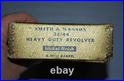 Smith & Wesson 38/44 Heavy Duty Nickel Revolver Box