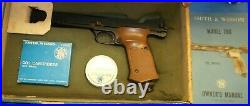 Smith & Wesson 78G. 22 Target Pistol withBox, Manual & Extras ADJUSTABLE TRIGGER