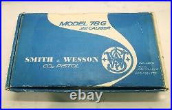 Smith & Wesson 78G CO2 Boxed Air Pistol. 22 Caliber Pellets