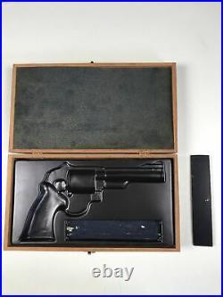 Smith & Wesson Factory Presentation Wood Case Box S&W 6 Barrel