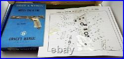 Smith & Wesson Model 78g. 22 Caliber Co2 Pellet Pistol Original Box Manual