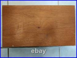 Smith & Wesson N Frame Wood Presentation Box Case Model 29 S&W
