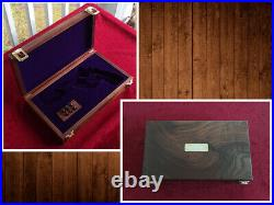 Smith & Wesson S&W Revolver Pistol Presentation Case Wood Box Made to Order