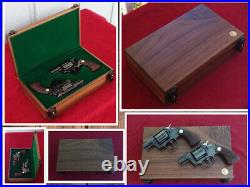Smith & Wesson S&W Revolver Presentation Case Wood Box Custom Made to Order