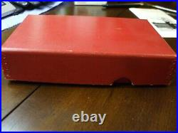 Smith & Wesson Vintage RED Box 2 Chiefs Special. 38 Pre-Mod 36 withPaperwork &