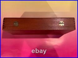 Smith & Wesson mahogany presentation box models 27 29 57