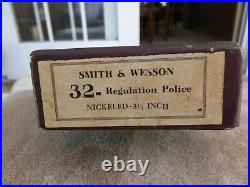 Smith & Wesson vintage box for a pre model 32