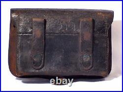 Springfield M1855 Pistol & Pistol Carbine CARTRIDGE BOX. 58 Cal