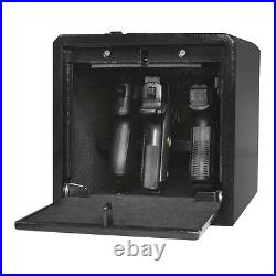 Stealth Handgun Hanger Safe Quick Access Electronic Pistol Security Gun Box USED