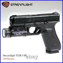 Stream light TLR-1 HL 1000-Lumen Tactical Weapon Mount Light-Black, Box Packaged