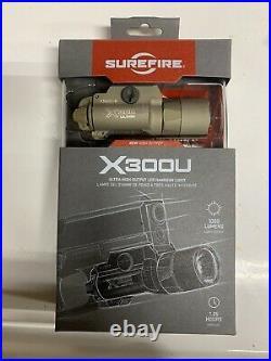 SureFire X300UB 1000 Lumen BRAND NEW IN BOX X300U-B-TN Tan