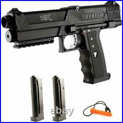 Tippmann TiPX Paintball Pistol Black 2 MAGS NEW IN BOX