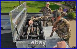 Truck Bed Gun Safe and Tool Box Vault Vehicle Transport 5 Rifle Shotgun Handgun