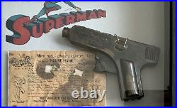 Vintage 1940's Superman Daisy Cinematic Picture Pistol withbox & instructions