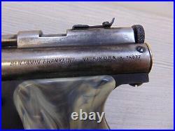 Vintage 1950's Benjamin Model 132 22 Cal Pump Air Pistol with Original Box